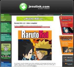 Raruto ROL en Jesulink.com